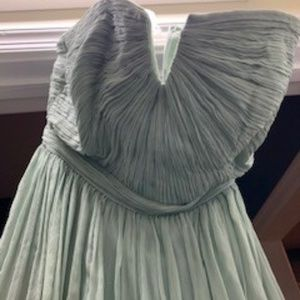 J Crew size 6 mint bridesmaid dress